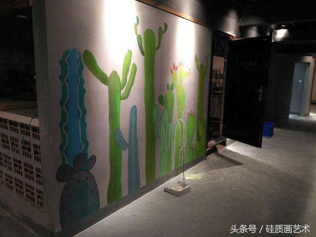 画了这么漂亮的手绘墙画,这家火锅店要火了