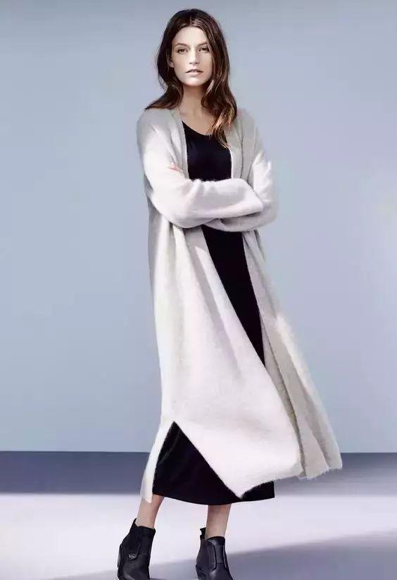 【搭配】秋天穿这样穿连衣裙,不要太美了! 28