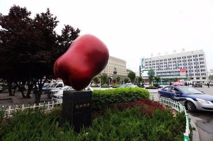 丨天水花牛苹果:中国的蛇果?门的景观设计手绘图图片