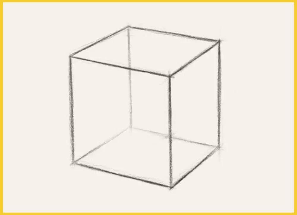 最详细的立方体透视变化及画法讲解
