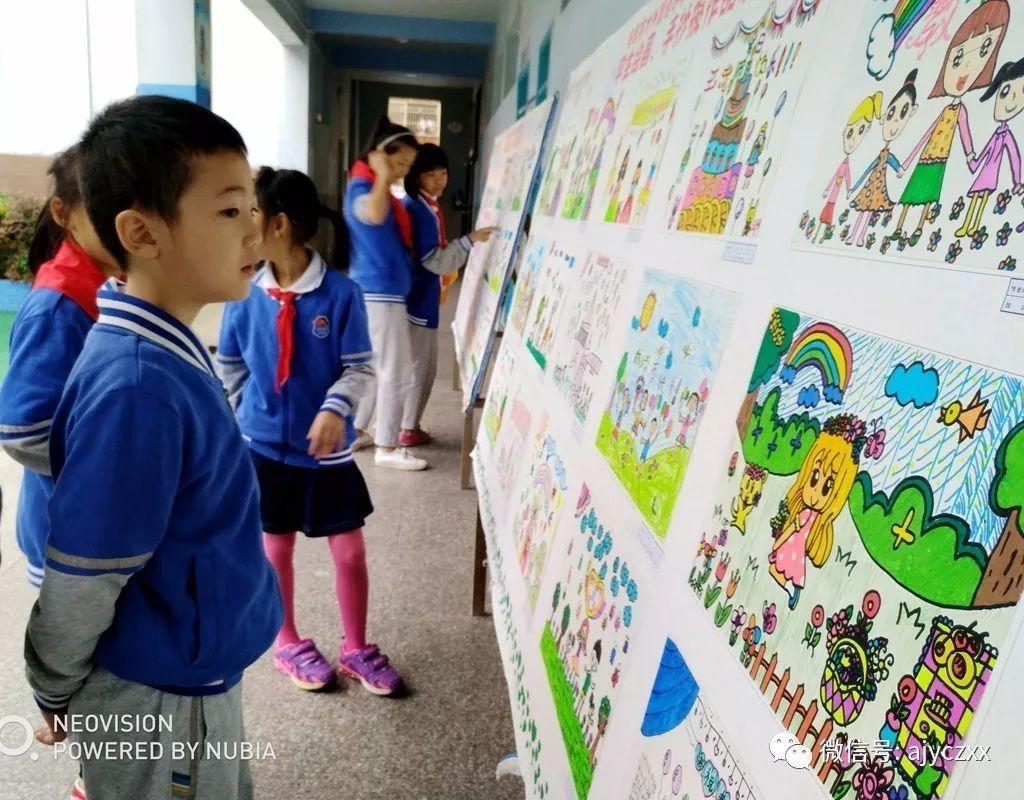 4-6年级同学制作出很多设计独特,内容丰富的手抄报.
