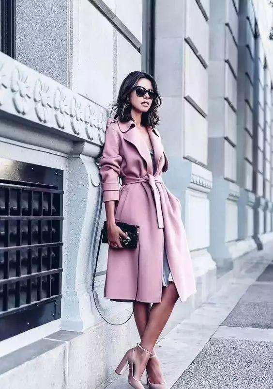 【搭配】秋天穿这样穿连衣裙,不要太美了! 16