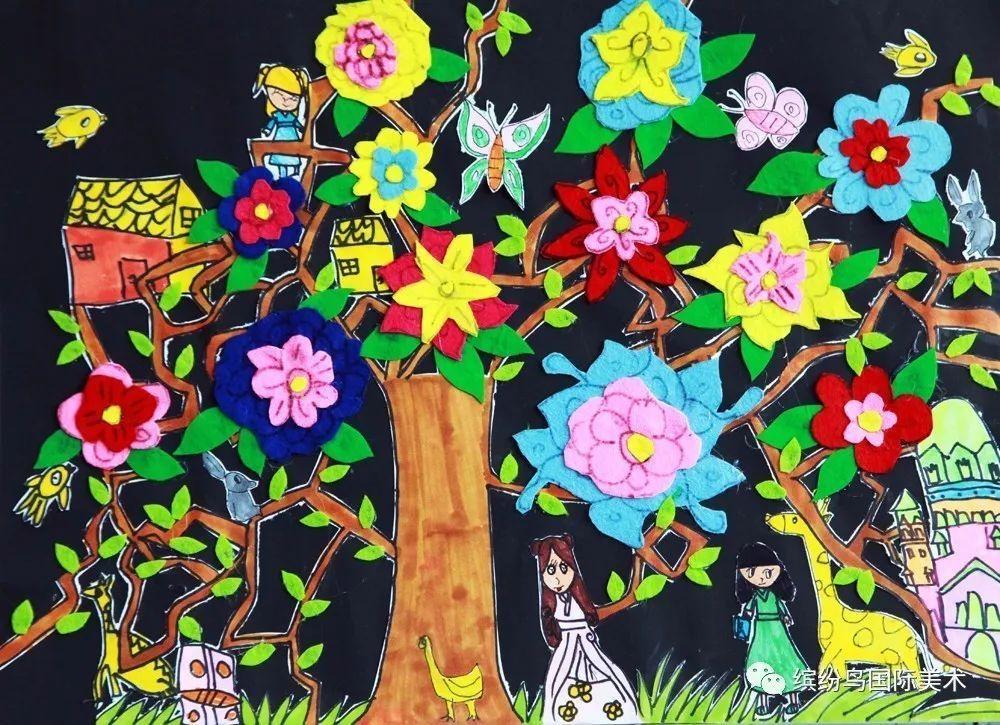 缤纷鸟第六届全国少儿美术大赛绘画类少儿A组特等奖获奖作品欣赏 上