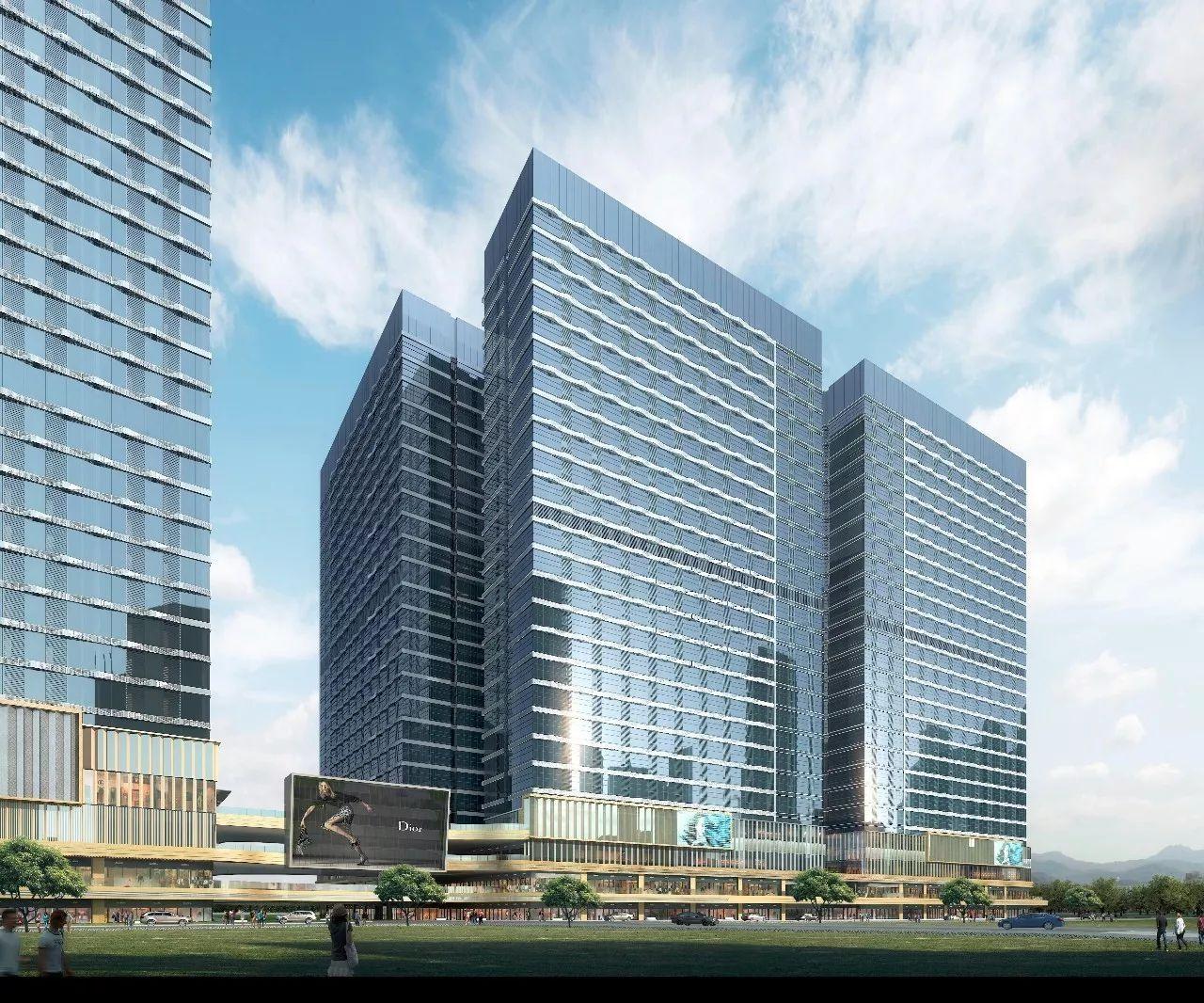 近日,中建不二广东分公司中标深圳红山玖钻项目11地块幕墙制作及图片