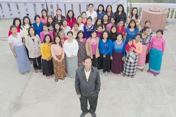 印度开挂的一夫多妻 39名女子嫁了同一个老公