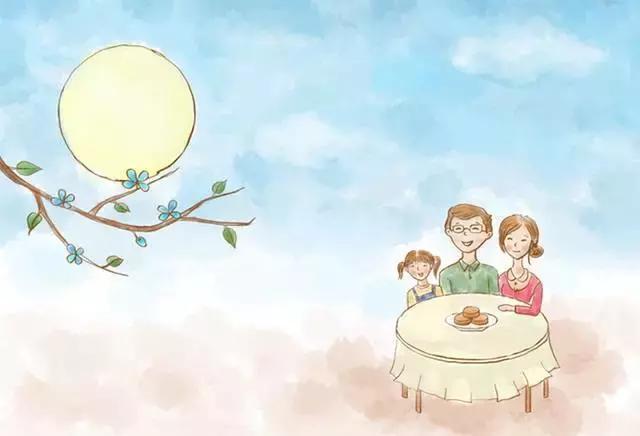 正值中秋赏月时,教您宝宝吃月饼的正确方式!图片