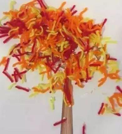 国庆放假回来,这些幼儿园创意秋季手工绝对用得上!