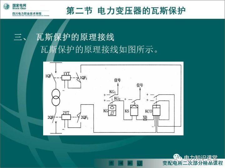 讲解瓦斯继电器与变压器主保护