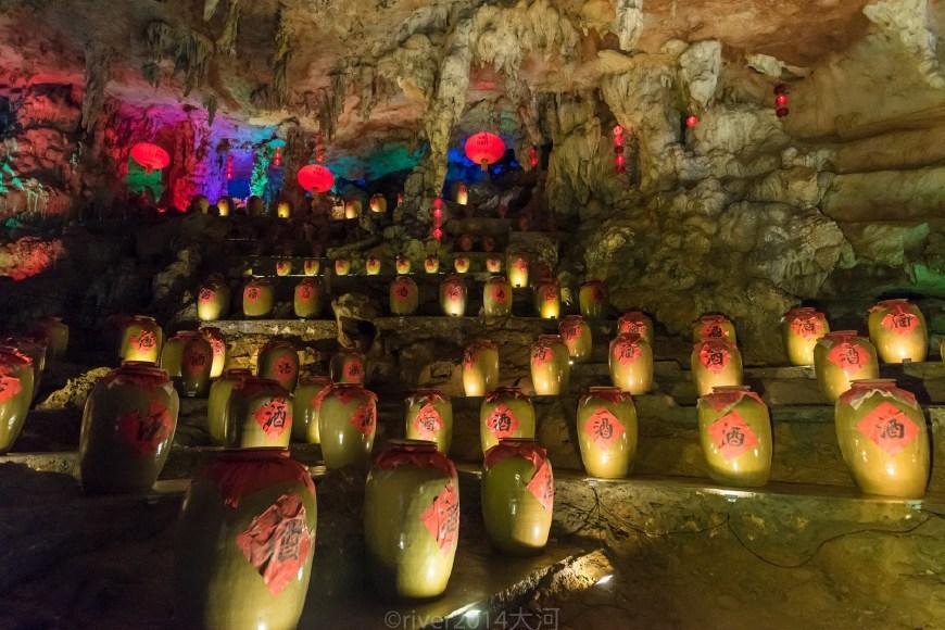 广东最美的溶洞,洞内有三层,步行进坐船出