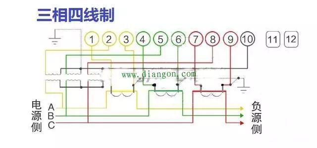 最全电表接线图
