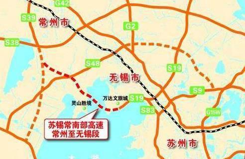 宜兴341省道路线规划图