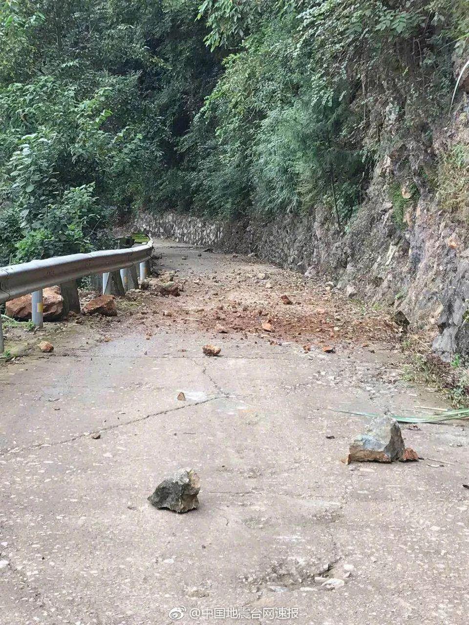 青川地震前的图片