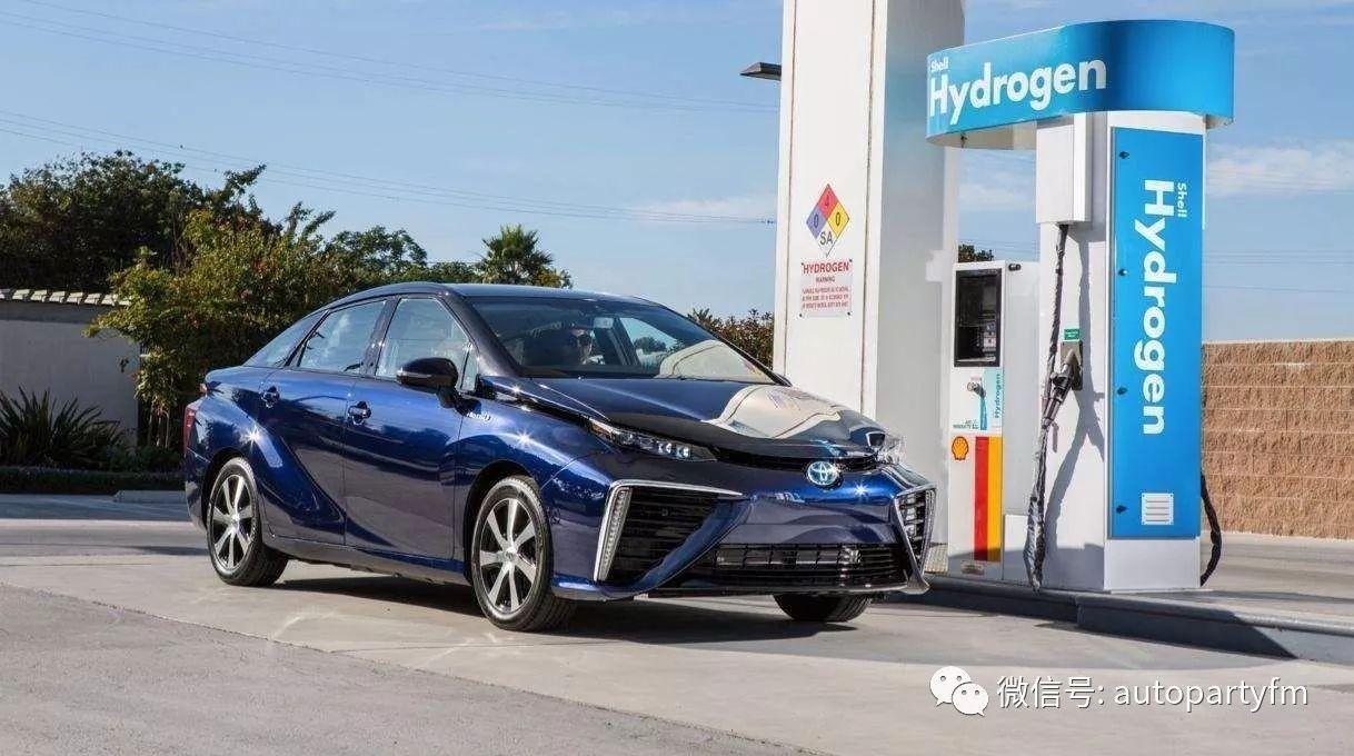 氢燃料电池车mirai