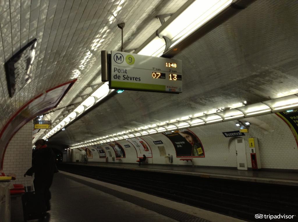 巴黎地铁站周围这么多美食美景,你打卡到几号线了?