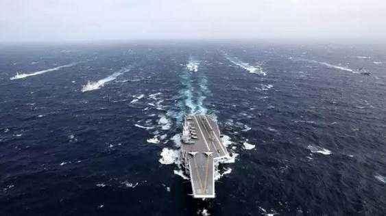 中国航母战斗群中为什么少不了054a护卫舰?对付美军核