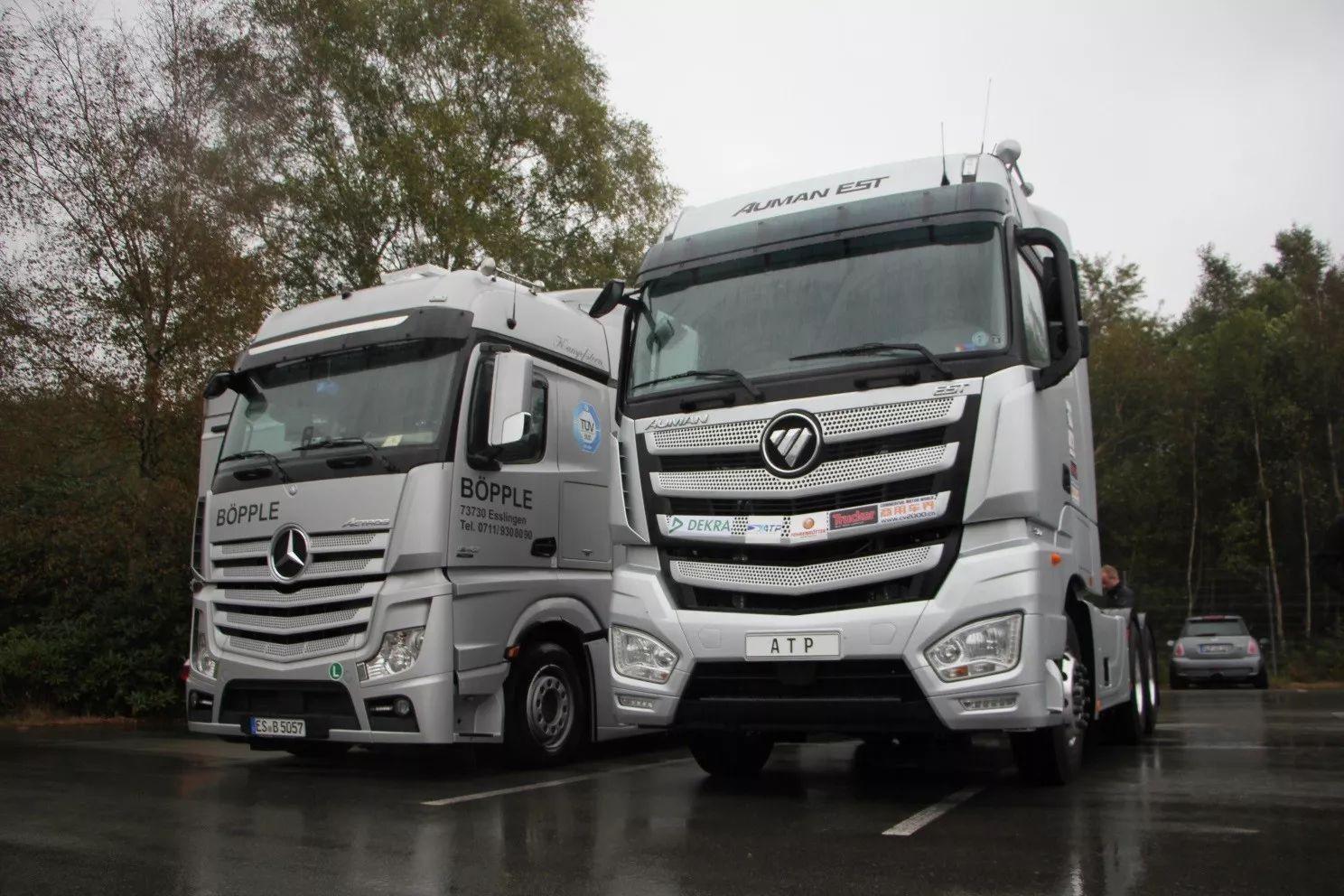 同步欧美超级卡车步伐 欧曼est升级用户价值图片