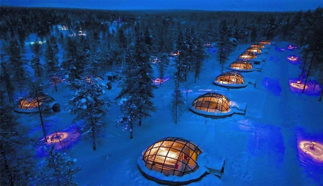 躺着就能看极光的酒店,到底哪一个好?