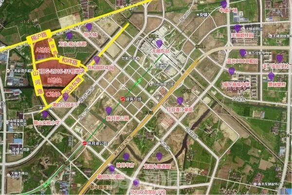 地块名称:xdg-2016-31号地块 地块位置:位于锡东新城商务区山河路东