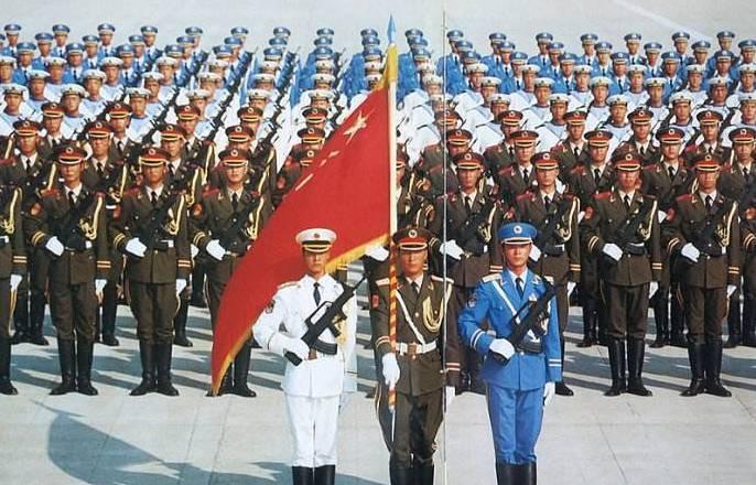 形容国庆阅兵的句子、图片 赞美阅兵的句子