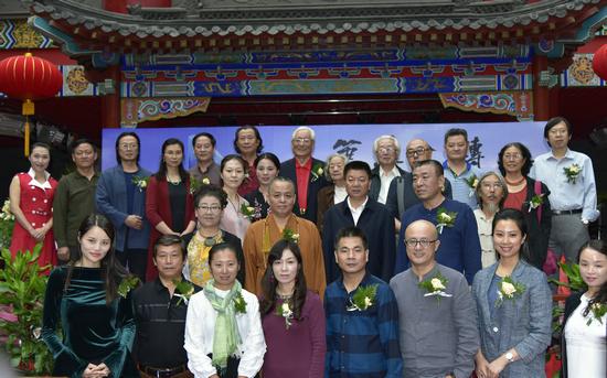 笔墨金砖――中国画名家作品邀请展在京隆重开幕