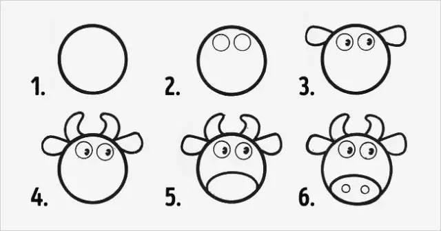 10个最简单的动物简笔画教程