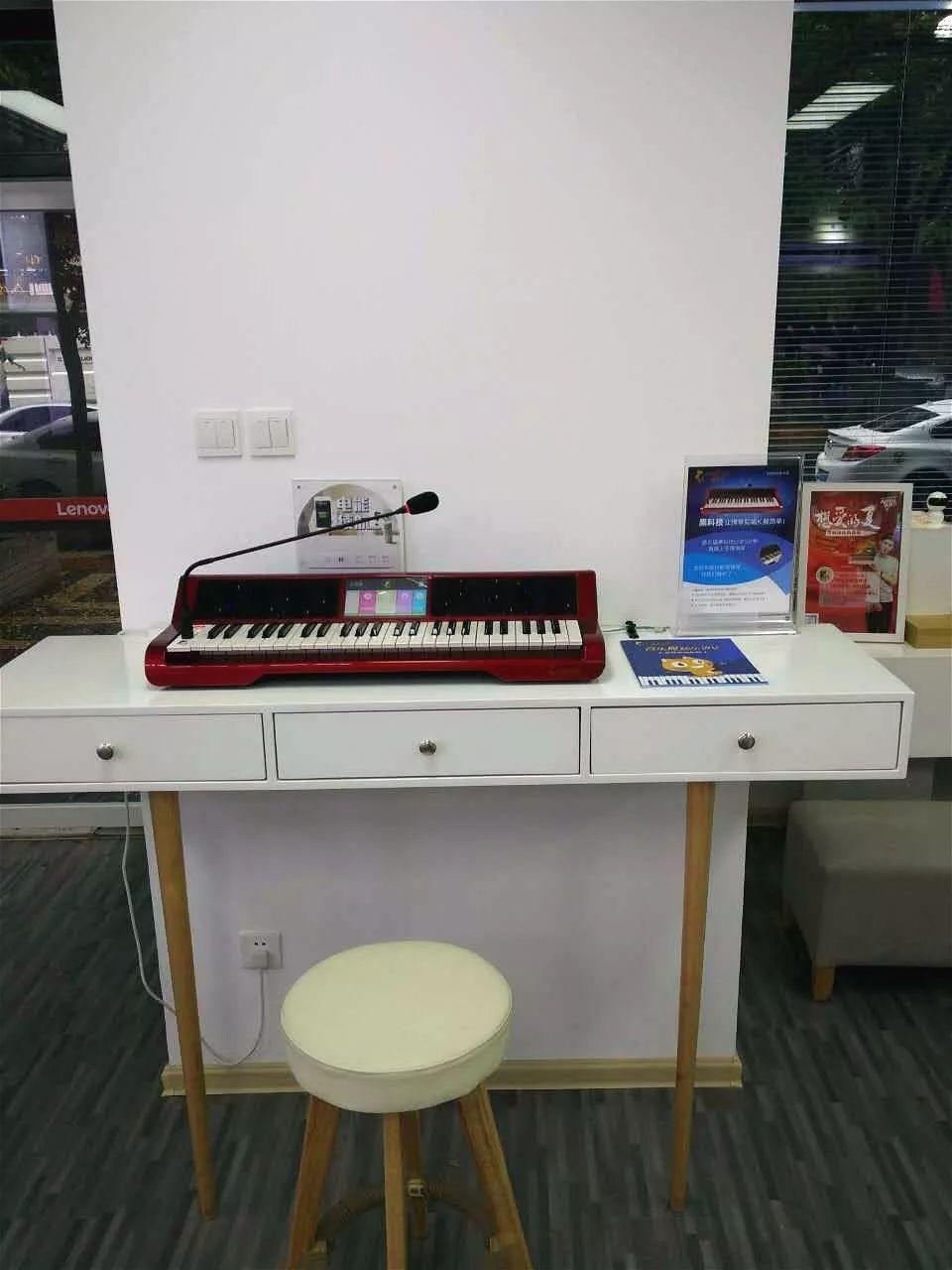 智能乐器跨界玩合作,音乐猫入驻联想全国门店图片