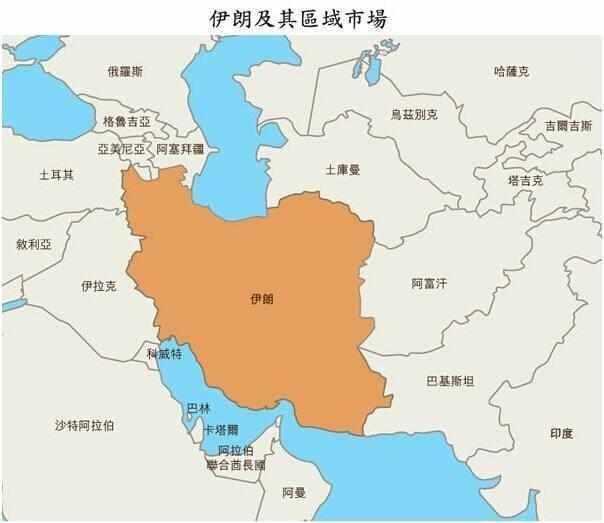 巴基斯坦和伊朗这两个相邻的国家, 哪个国家比较成功?图片