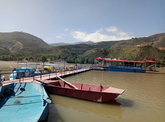 渭源 在线/这是定西唯一的一个码头—渭源县峡城乡秋池湾村侯家码头