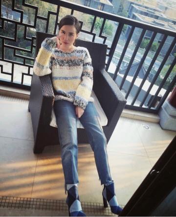 她是女明星机场时尚的领头羊,就算麻袋上阵依然漂亮! 3