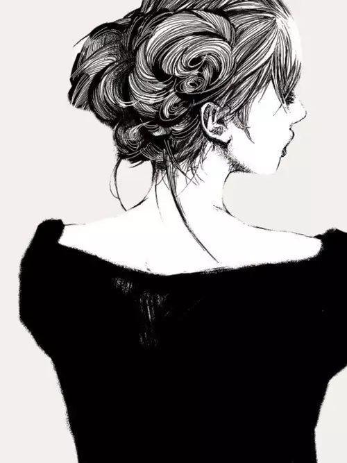 9月30 少女手绘插画锁屏壁纸原图更新 自取不谢!