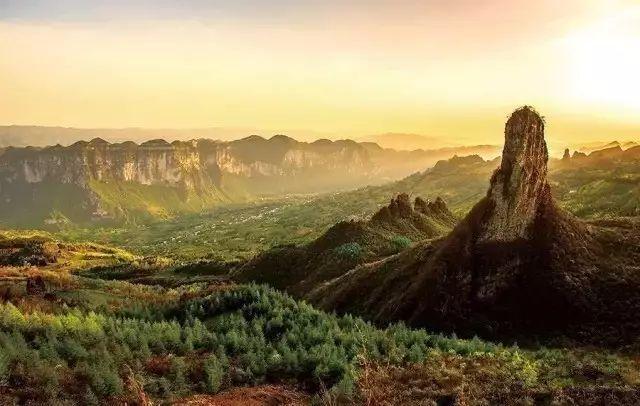 中国境内一个少有人知旷世仙境,世外桃源!
