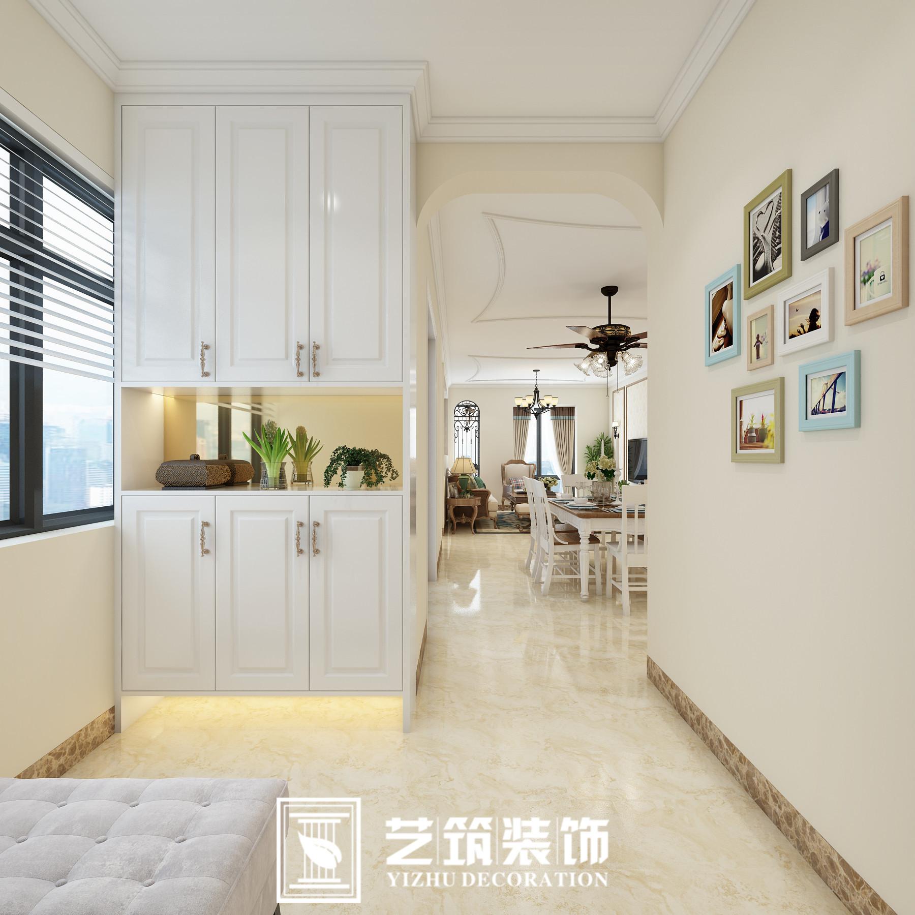 房产 正文  装修面积:100 平米 房屋户型:三居室 装修风格:美式风格