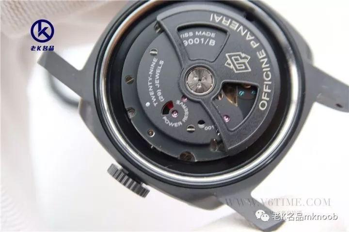 老K谈表第212期:VS厂推出V2版本沛纳海438,黑武士归来!