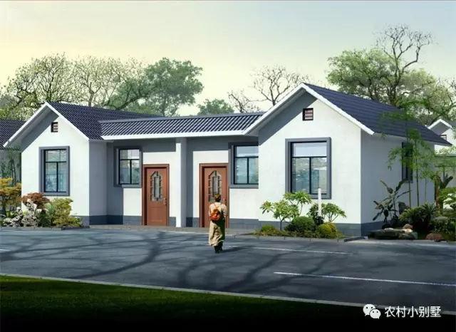 7款一层农村别墅效果图,7-15万建回家,每款户型都很经典