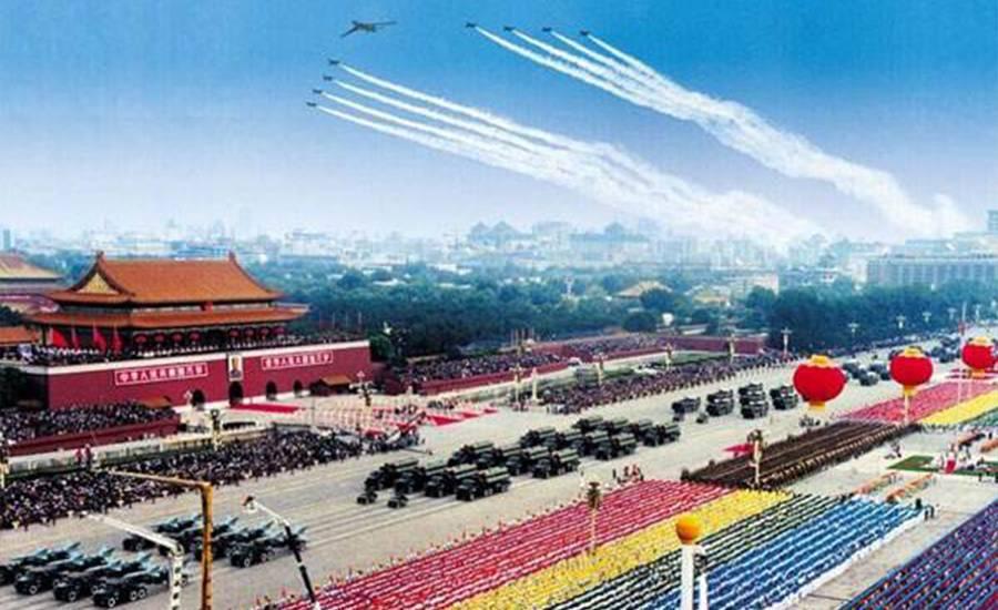 献礼国庆,石油人奉献了一场创意十足的爱国秀!图片