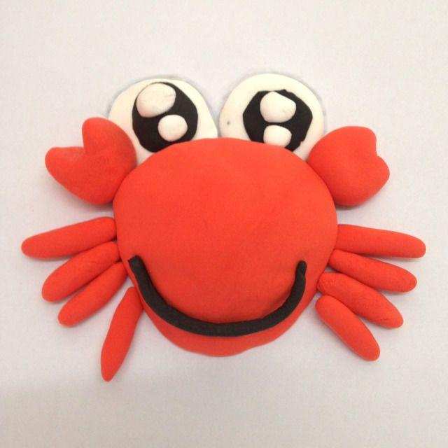 中秋美食丨中秋图片少得了手工(中,模板大班)螃蟹泥工美食图片