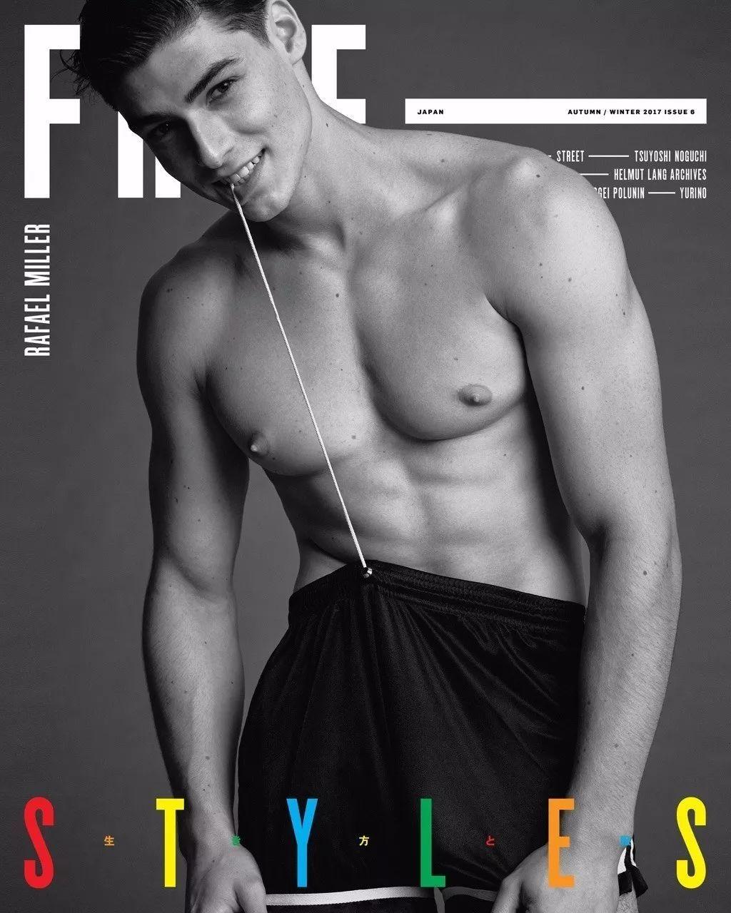 法国网红男模Rafael Miller,甜美就像马卡龙