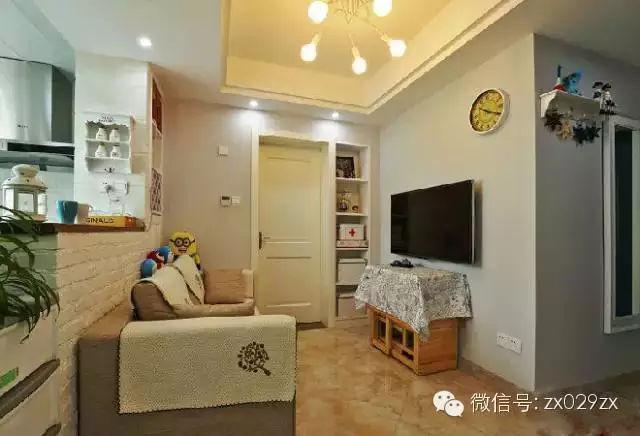 ◆超小客廳,創意簡約吊燈也能幫上忙 家有壁燈真美,下一套房一定用壁燈