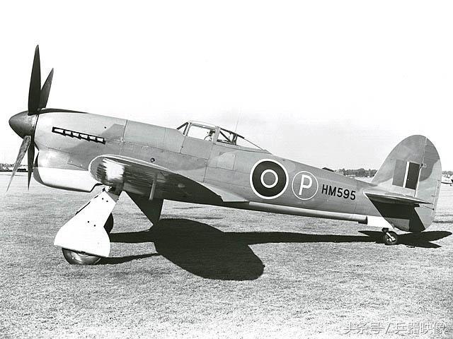 为英国空军最先进的活塞式战斗机,配属英国驻海外的部队,如德国,塞浦