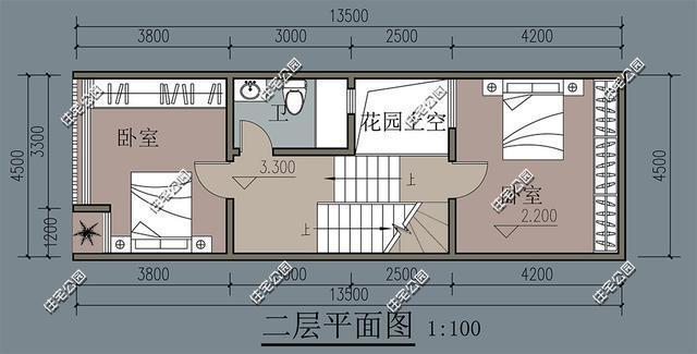 平面图天井的画法