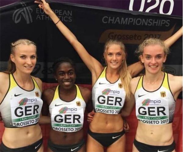 18岁的她获评世界最美运动田径运动员 逆天身材高颜值