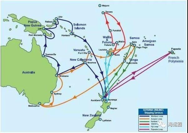 南太平洋幼女性交平_拓展南太平洋航线服务,达飞轮船收购sofrana unilines