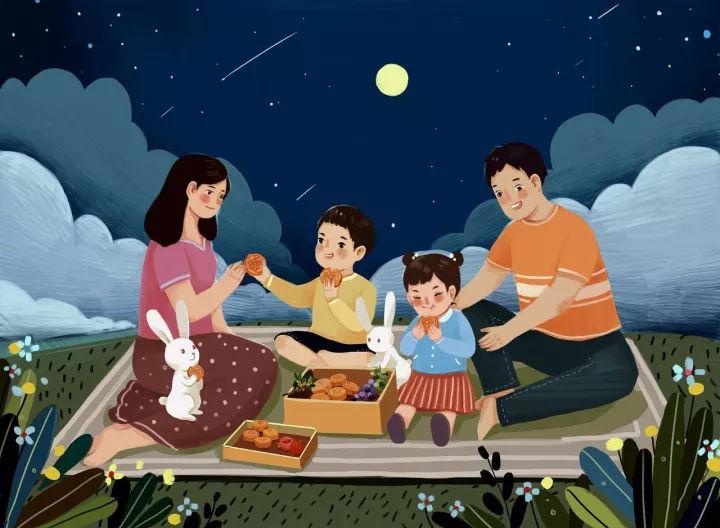一,中秋节与赏月