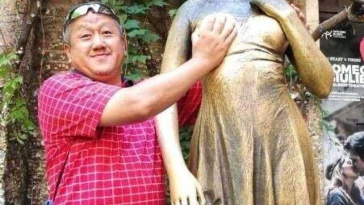 世上最丑的人的照片_中国式旅游,最丑的风景是人