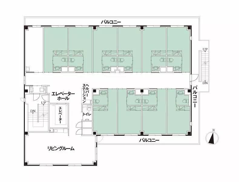 4大案例告诉你高端养老院设计要点!图片