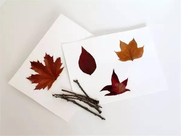【手工制作】秋天捡几片树叶就能装饰整个幼儿园!
