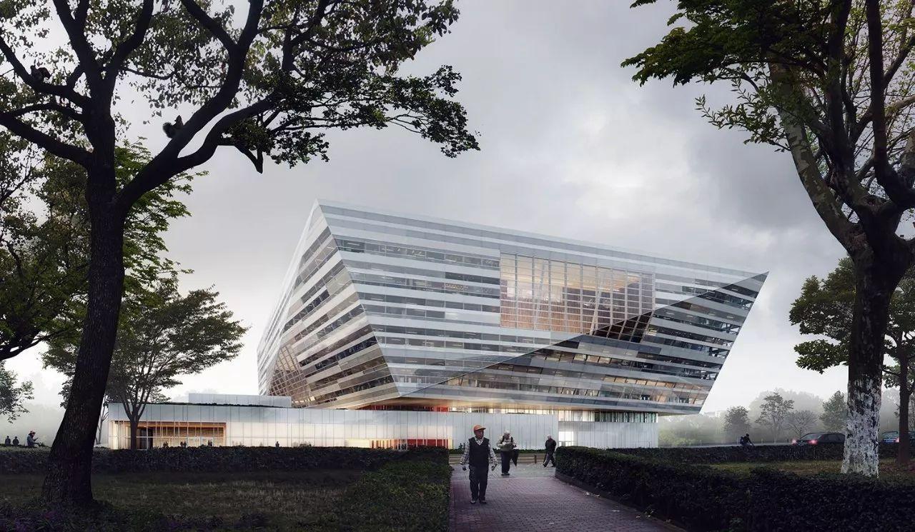 上海图书馆东馆外观效果图