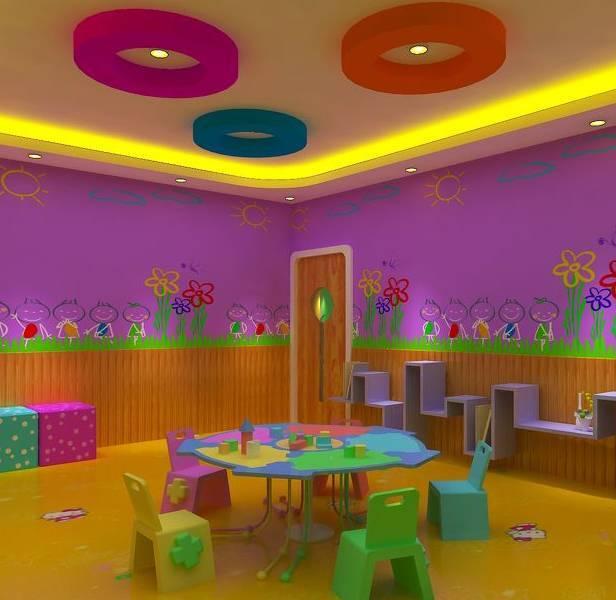 【主题墙】幼儿园主题墙布置—彩色世界