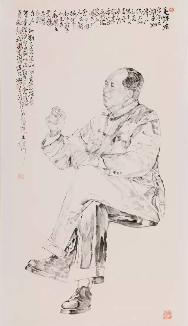 文化 正文  重大题材或军事题材,一直是各种画在各类美展上的创作热门