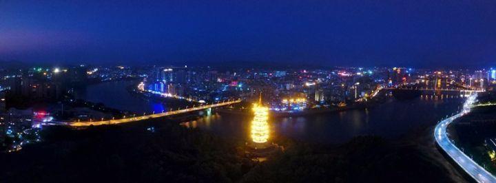 震撼发布!赣州最新城市宣传片+vr航拍夜景,简直大写加粗的美!